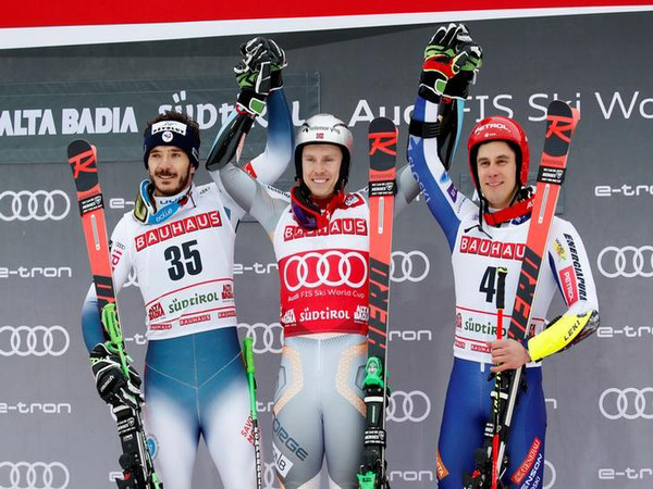 Henrik Kristoffersen surges atop World Cup ski standings with victory at Alta Badia