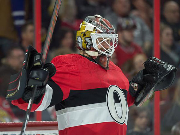 Senators snap 9-game slide as Marcus Hogberg saves 40 to push back Flames