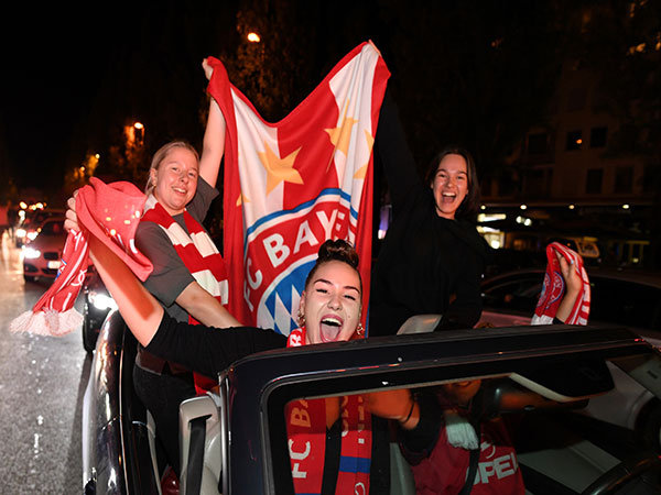 Coronavirus: Bayern Munich fans could face quarantine after Super Cup