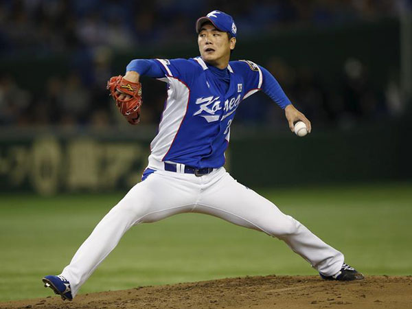 Cardinals' manager, catcher impressed with Kim Kwang-hyun's first outing