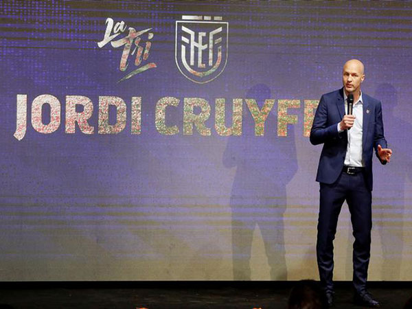 Jordi Cruyff takes charge of Ecuador
