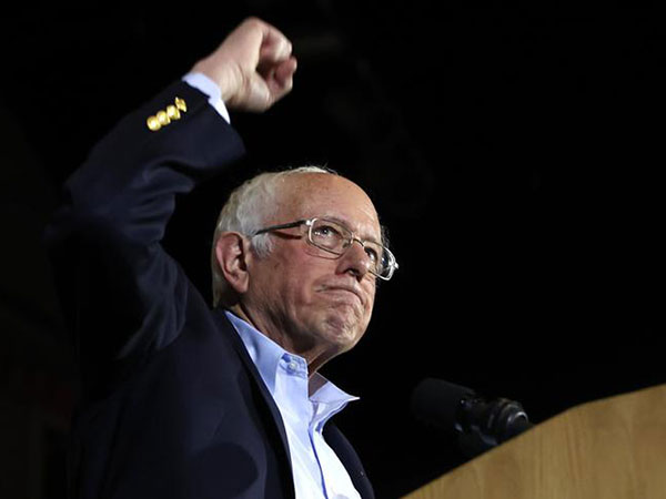 Sanders' socialist revolution sweeps Sin City with Nevada caucus win