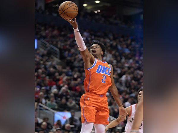 Canada's Gilgeous-Alexander ties career-high in points in Thunder's win over Raptors