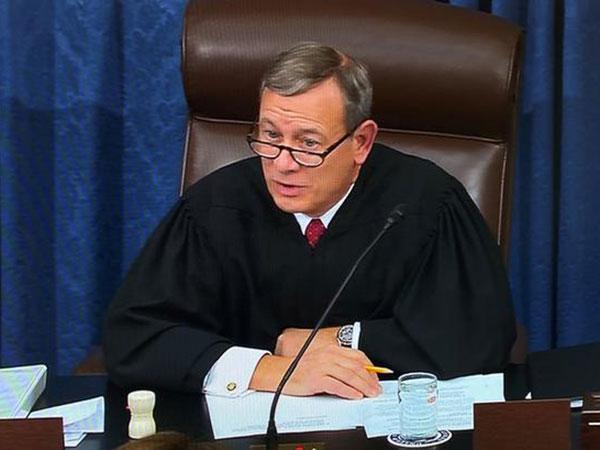 US Supreme Court Chief Justice Sworn In, Will Preside Over Trump Impeachment Trial