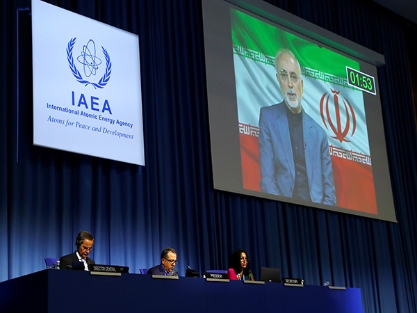 Iran pursuing peaceful use of nuclear technology with firm determination