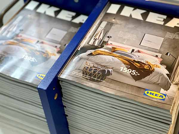 Ikea to stop printing paper catalogue