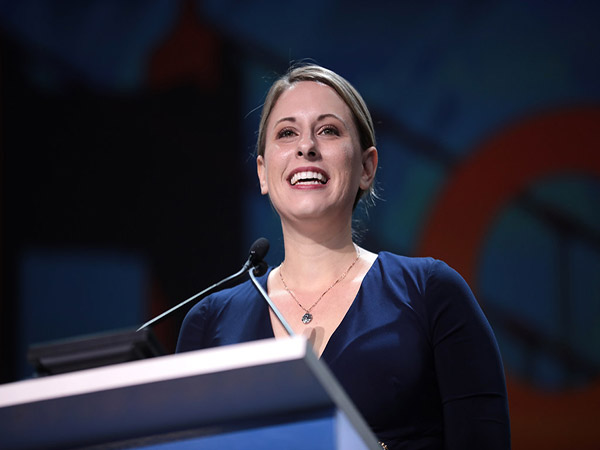 Rep. Katie Hill fights back amid claims she was involved in romantic 'throuple' with staffer