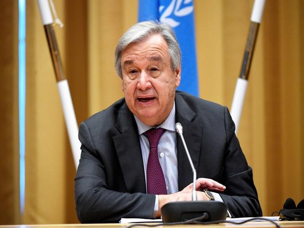 UN chief urges humans to make peace with nature