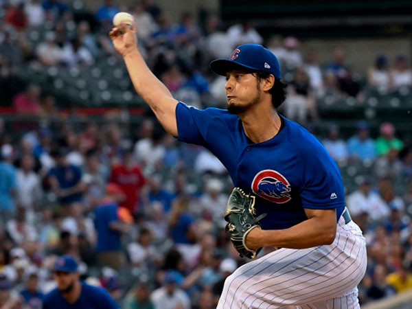 Darvish wins National League Pitcher of the Month