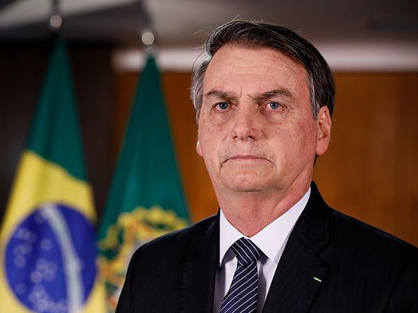 Brazil's president tested for COVID-19