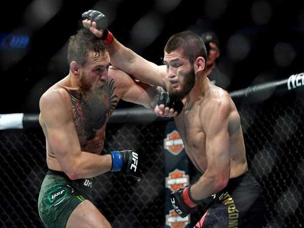 Russia's UFC Champ Nurmagomedov to fight Canada's Georges St-Pierre next April