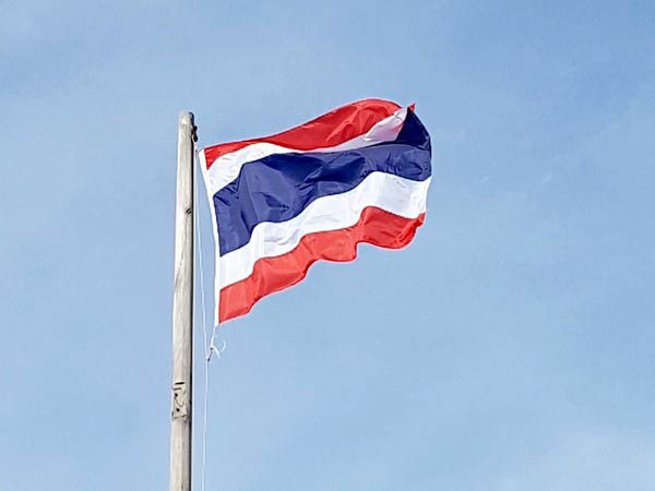 Thai protesters rally outside military base