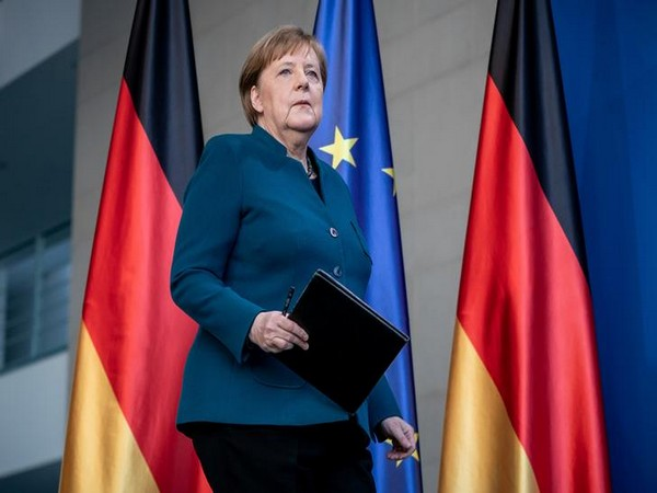 """Merkel says Israel's security central to """"every German gov't"""""""
