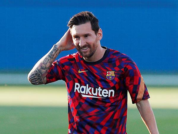 Ankle injury sidelines Messi against Eibar