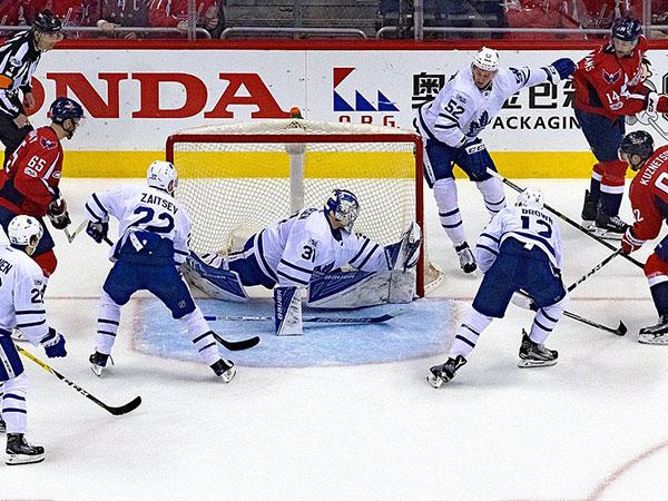 Maple Leafs fall short against Stars in Frederik Andersen's return from injury