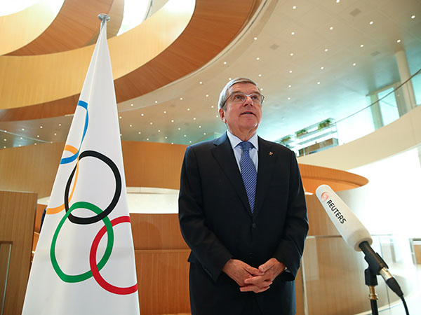IOC president shows confidence in Tokyo Games