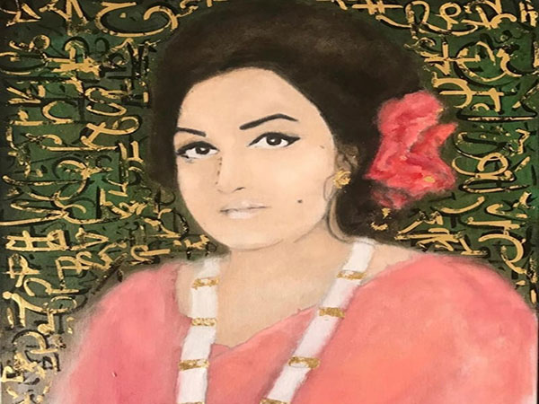 With her latest art exhibit, Madam Noor Jehan's daughter pays tribute to the queen