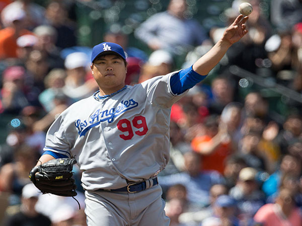 Blue Jays' Ryu Hyun-jin gets no-decision on Opening Day