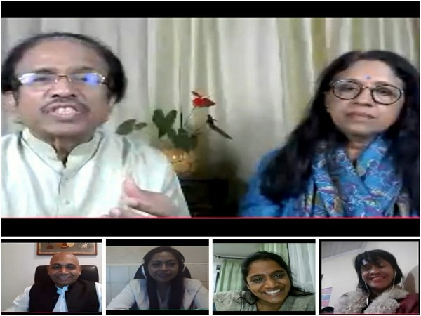 Indian Embassy of Madagascar and Comoros hosted an online conversation with Dr L. Subramaniam and Kavita Krishnamurti on Tuesday