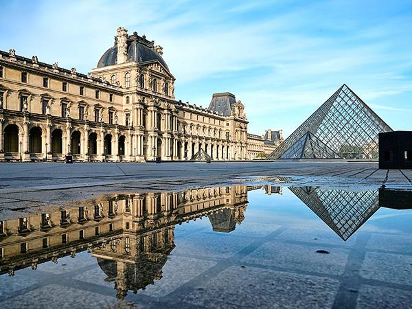 Louvre museum reopens after virus shutdown