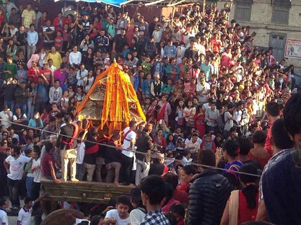 Indra Jatra kicks off in Kathmandu