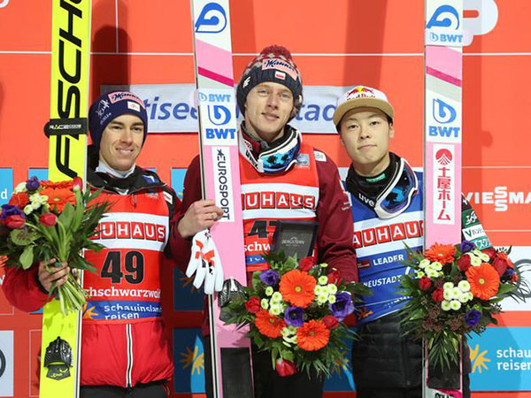 Poland's Kubacki wins Ski Jumping world cup in Titisee-Neustadt