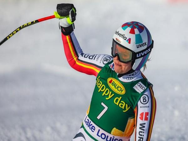 Germany's Viktoria Rebensburg victorious in Lake Louise super-G