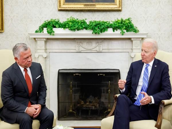 Biden, Jordan king discuss ties, regional issues