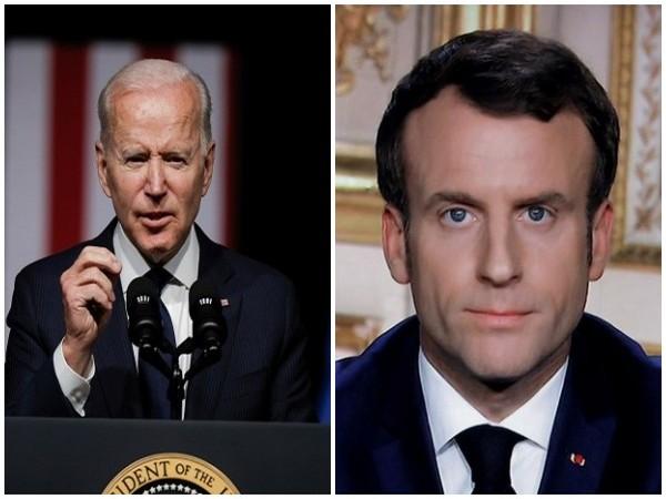 Biden, Macron hold phone call over submarine deal rift