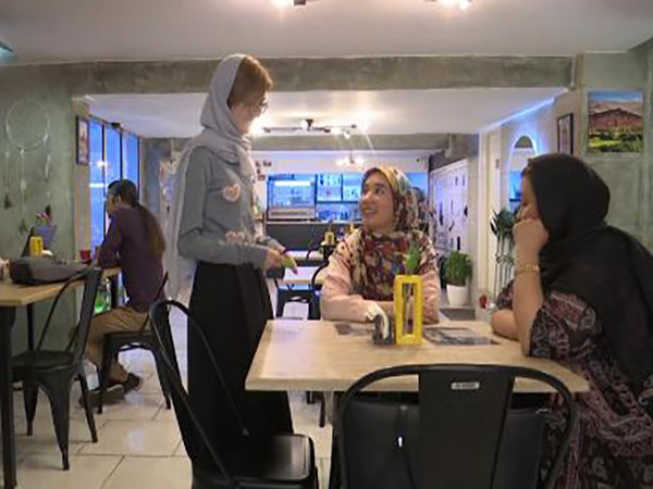 An Afghan Refugee Opens Cafe In Iran