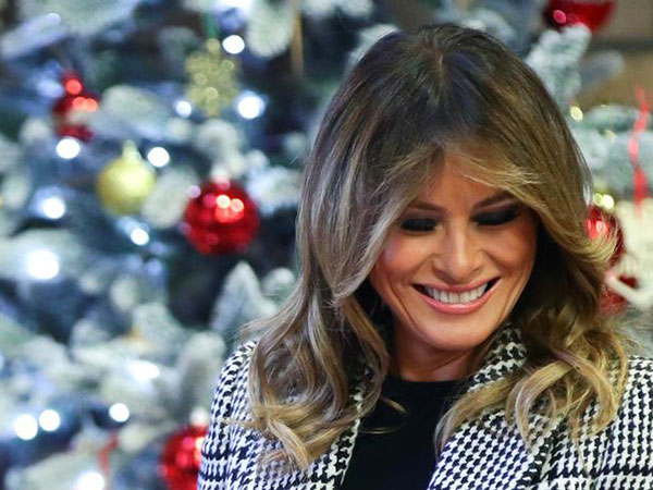 Melania Trump defends her son after professor's joke at impeachment hearing