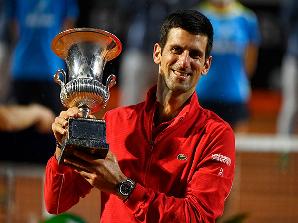 Djokovic wins record 36th Masters title in Rome
