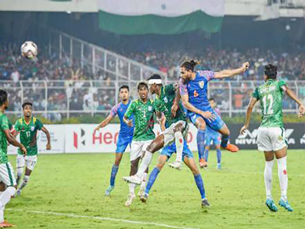 Football: India Ties Bangladesh, Faces Match With Afghanistan