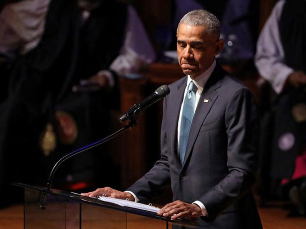 Obama to worried Democrats: 'Chill out about the candidates'