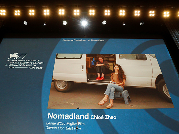 'Nomadland' wins top prize at Venice film festival