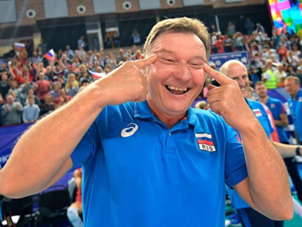 S. Korean volleyball body to file complaint over Russian coach's racist gesture