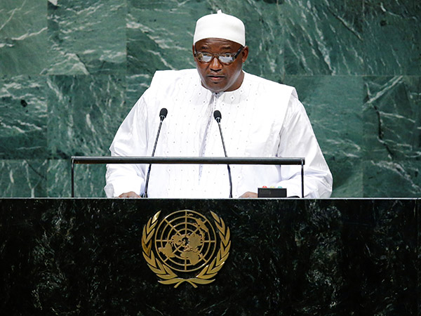 Gambian president calls for int'l support for poor countries amid COVID-19 pandemic