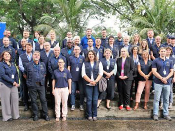 EU Long-Term Observer Team leaves for the provinces to begin observation of Sri Lanka's presidential election