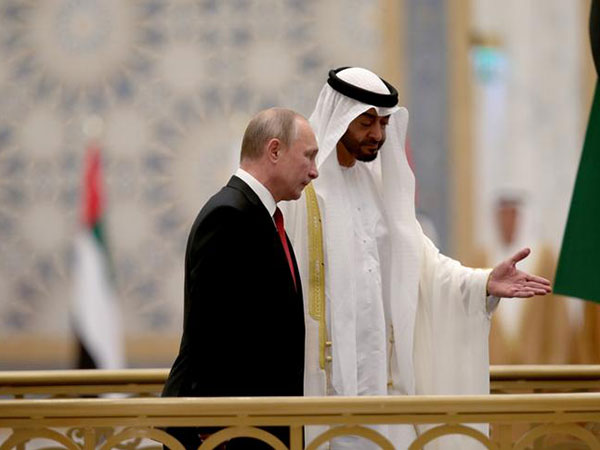 Putin arrives in UAE to discuss Syria, war on terror, economic cooperation