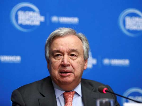 UN chief happy with climate action, sad about handling of pandemic: spokesman