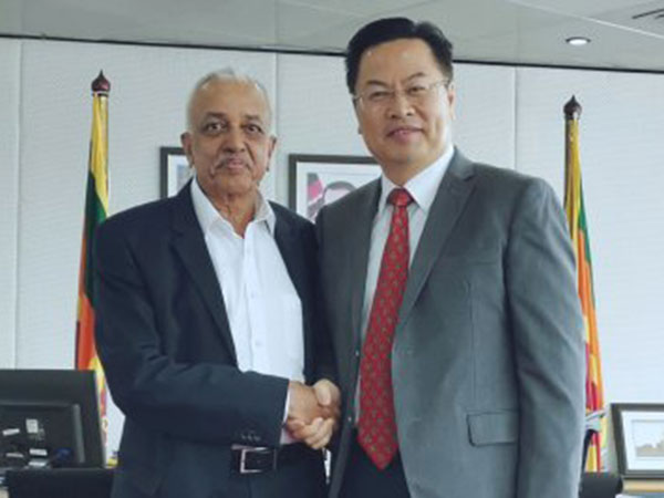 China, Sri Lanka to work together to facilitate Chinese investments in major projects