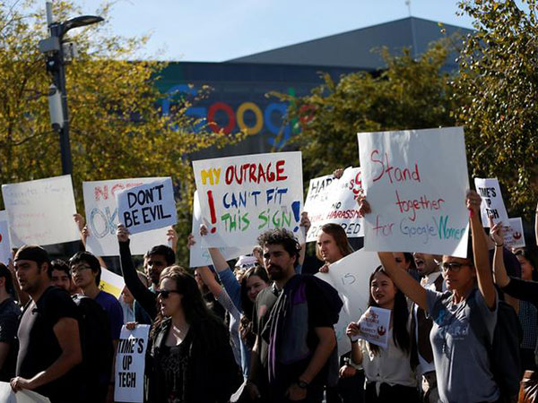 Google faces new protest over accusations of retaliation against employee activism