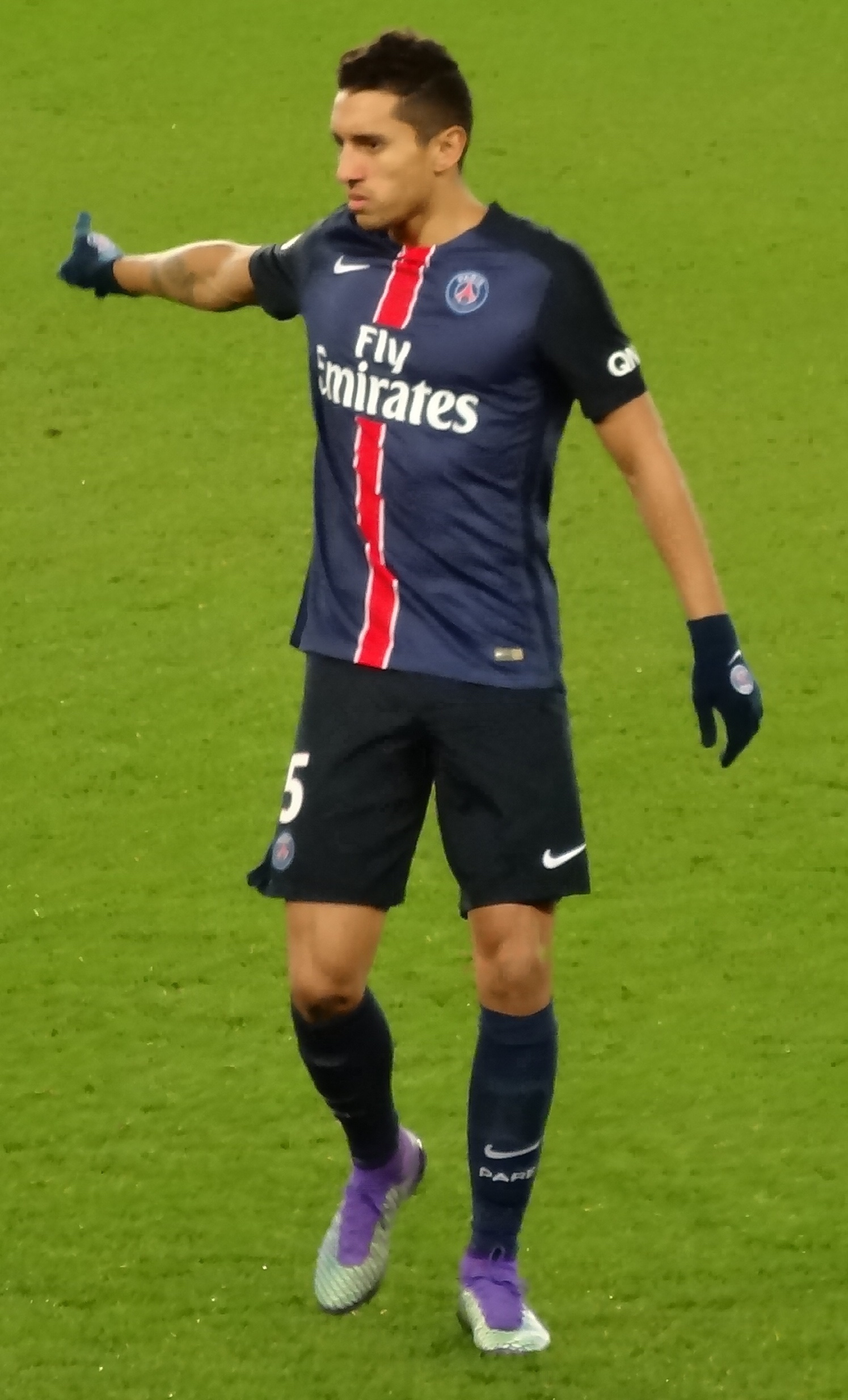 Marquinhos: It would be an honor to captain PSG