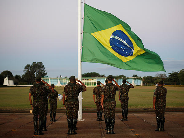 Brazilian government sees boost in approval rating