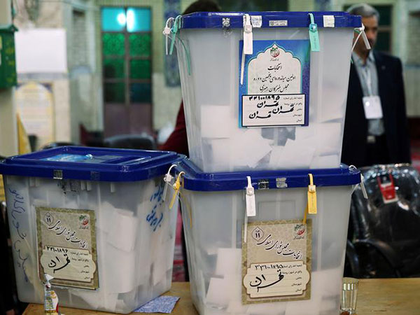 Hardliners win Iran's election