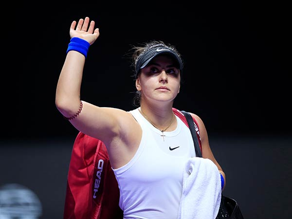"Canadian star Andreescu ends 2020 season to ""focus on health and training"""