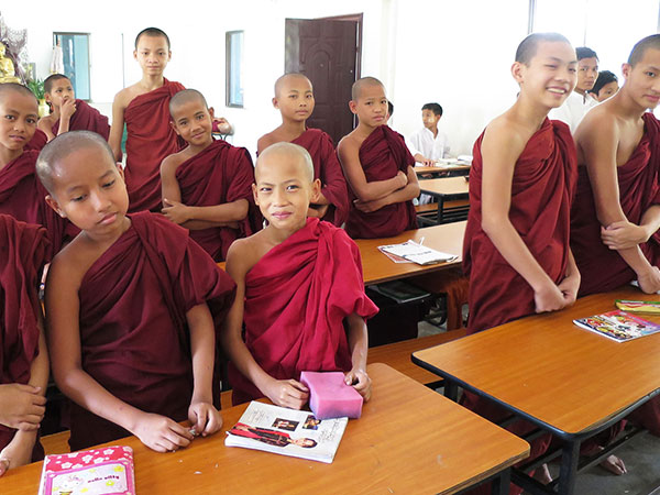 Monastic schools, a symbol of ancient education in Myanmar