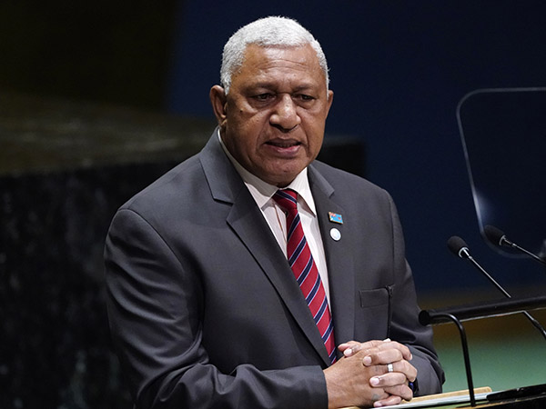 Fijian PM calls for more actions to fight against climate change