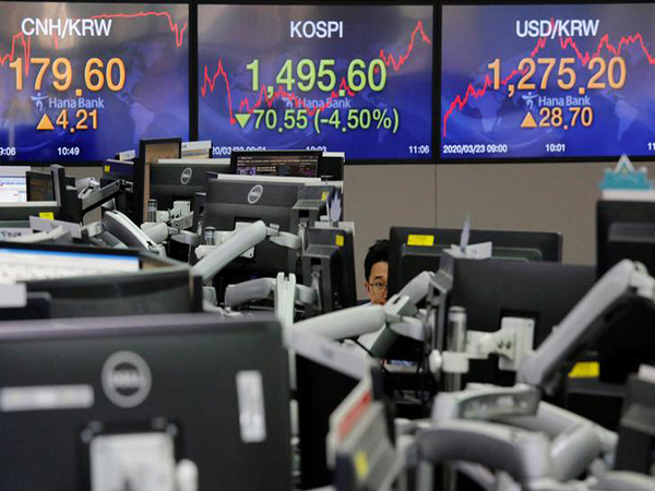 Seoul stocks rally for 2nd day on stimulus measures, Korean won sharply up