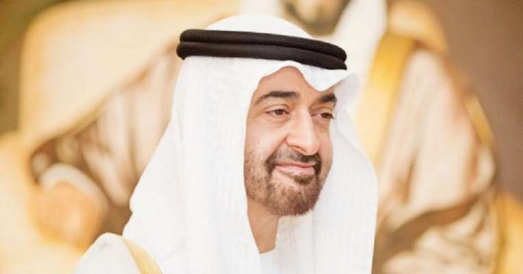 Mohammad Bin Zayed receives President George Weah of Liberia